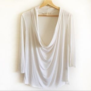 Soft Joie Draped neck top